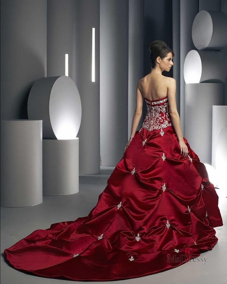 Ball gown cher pinterest ball gowns gowns and for Da vinci red wedding dress