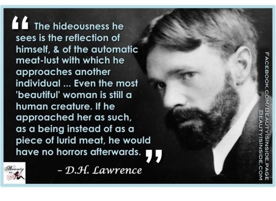 D.H. Lawrence's old school response to sexism