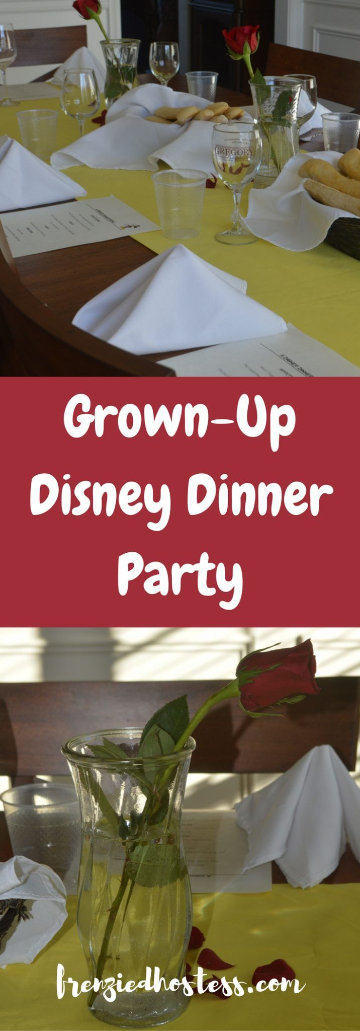 How to Host a Fancy Disney Themed Dinner Party