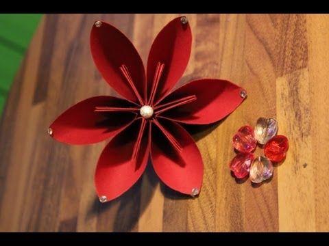 fiore di carta - procedimento
