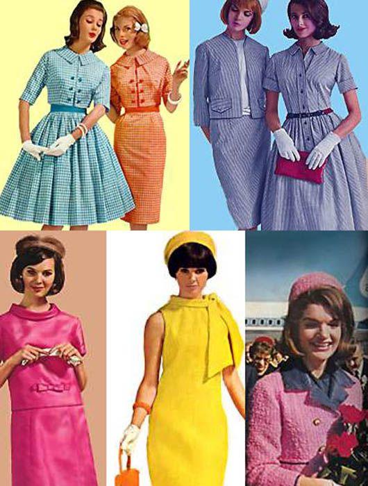 aqui vemos la moda y tendencias de los años 60