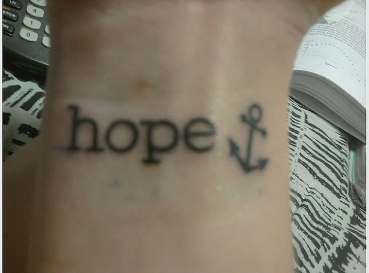 18 best Hope Butterfly Wrist Tattoos images on Pinterest ...