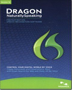 Control Your Digital World by Voice-Dragon NaturallySpeaking 12 Premium speech recognition software ignites new levels of personal productivity and convenience by enabling you to interact with your PC by voice. Say words and they appear on your computer screen - three times faster than typing - with up to 99% accuracy. Dictate or modify documents, spreadsheets and presentations, manage email, search the Web, post to Facebook and Twitter, and more.Price: $130.27