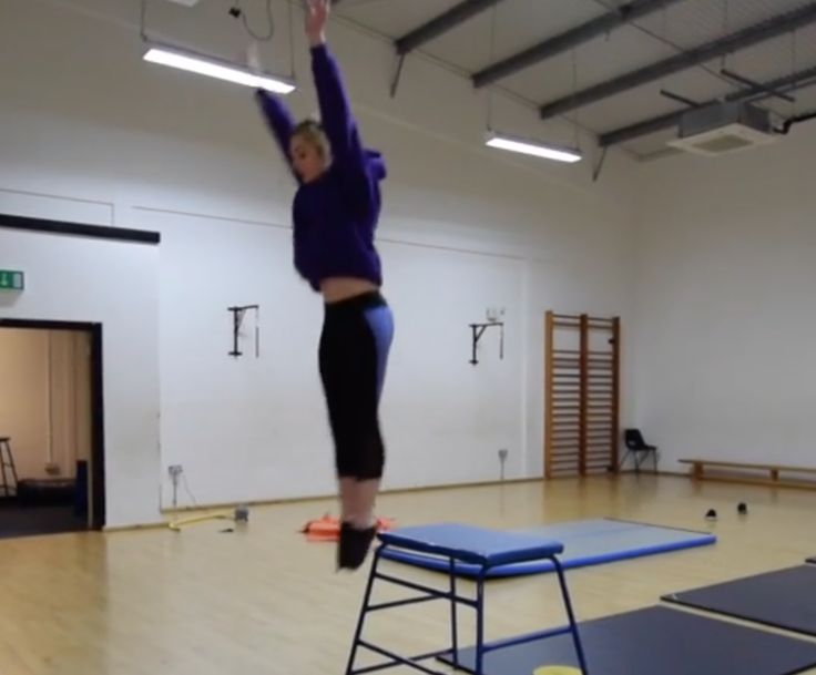 Want to use tables in your gymnastics lesson, this video shows you how to teach your students to jump and land safely and how to incorporate gymnastics skills into your lessons