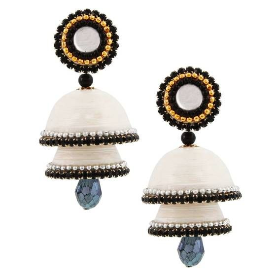Shopo.in : Buy Handcrafted Stud Double Jhumki online at best price in Bikaner, India