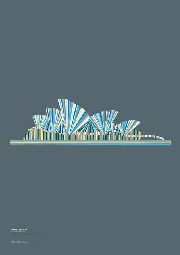 landmarks of the world, sydney opera house, Design by House