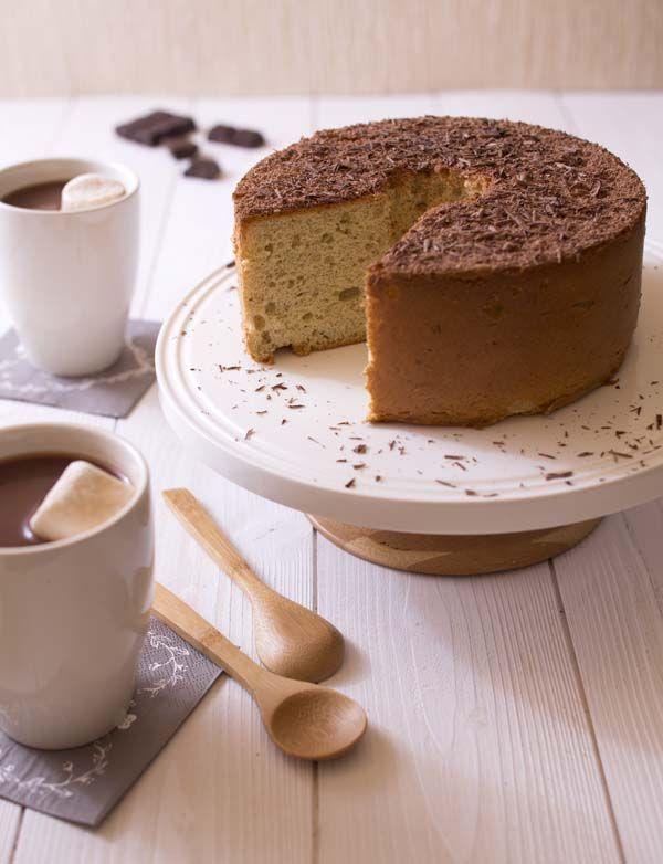 Photo recette Chiffon cake banane, le gâteau mousseline à la banane