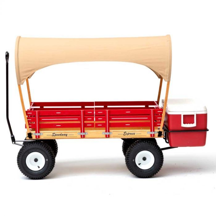 Fully Loaded Sdway Express Beach Wagon With Cooler Rack