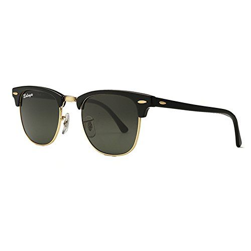 977f7d9937abb Laus Home Semi Rimless Sunglasses Glass lenses Women Men Retro Brand Classic  Half Frame Sun Glasses