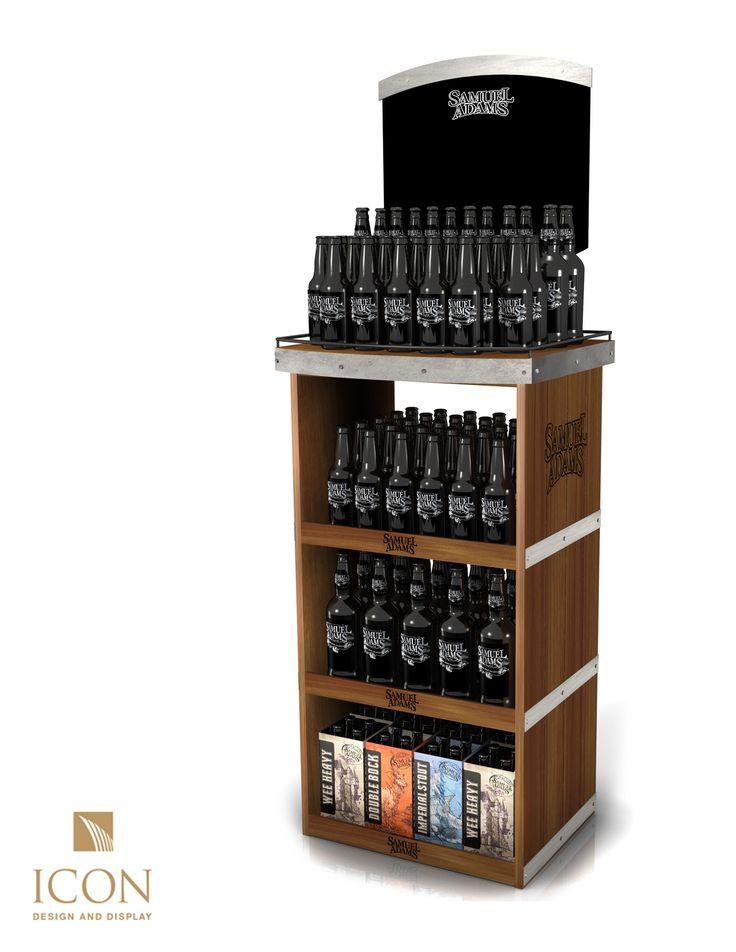 We made this POP display for Samuel Adams Beer // #POPdisplays #BeerDisplay