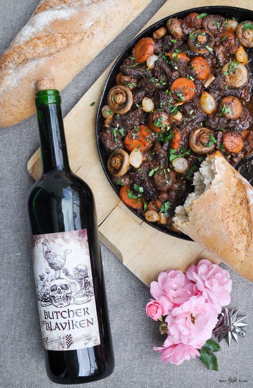 Boeuf bourguignon - Wiedźmin 3 Dziki Gon - Krew i Wino - wołowina po burgundzku - 01