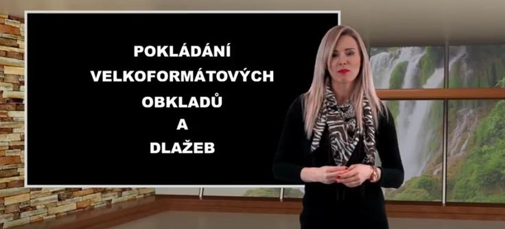 Obkladači Plzeň – specialisté na pokládání velkoformátových obkladů a dlažeb. Ukázka pracovního postupu. obkladači v Plzni provedou kompletní rekonstrukci koupelny v Plzni i v okolí Plzně Vyrobilo video studio WFB Media Videoprodukce Plzeň, uvádí redaktorka Anna Doxanská.