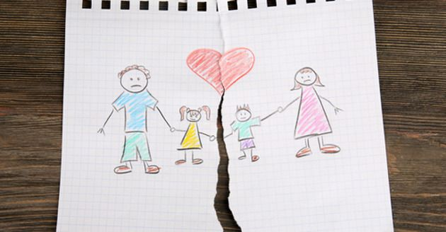 6 efeitos devastadores do divórcio nos seus filhos
