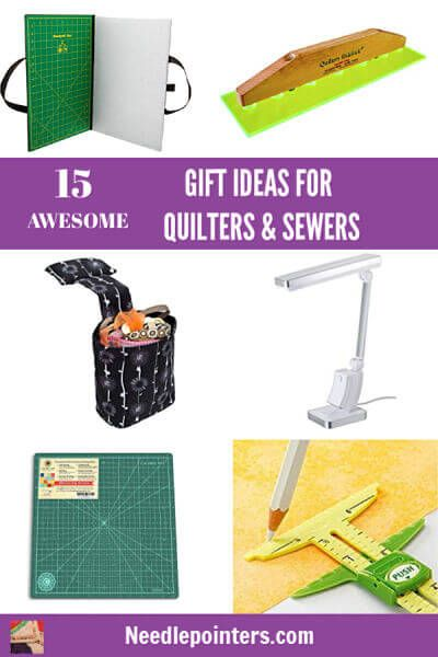 15 Awesome Gift Ideas for Quilters and Sewers. Buy them a gift they will love this Christmas!  sc 1 st  Pinterest & 15 Gift Ideas for Quilters u0026 Sewers | Sewing Techniques and Tips ...