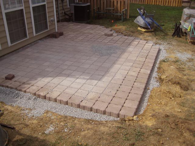 10 best paver stone patio images on Pinterest | Cobblestone pavers ...