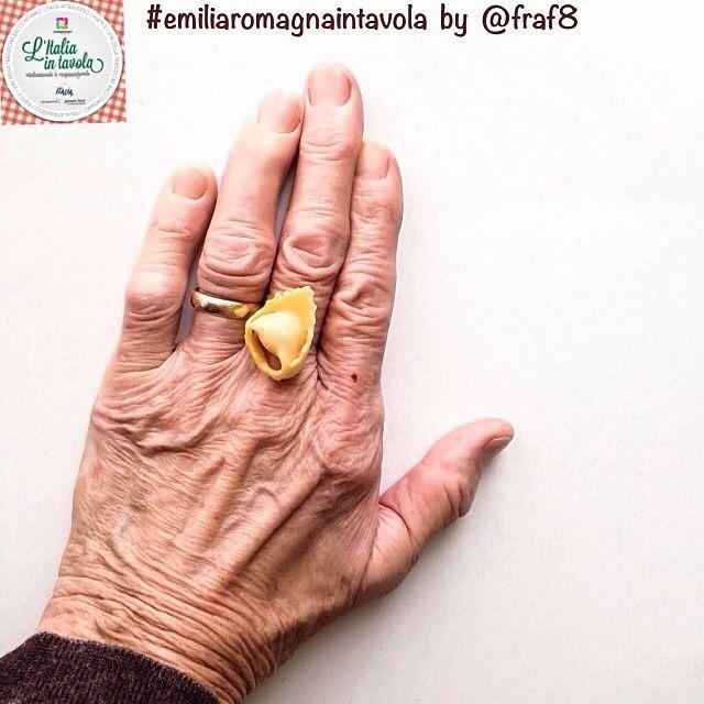 Il tortellino una seconda fede? È ciò che afferma @fraf8 che partecipa a #emiliaromagnaintavola #italiaintavola