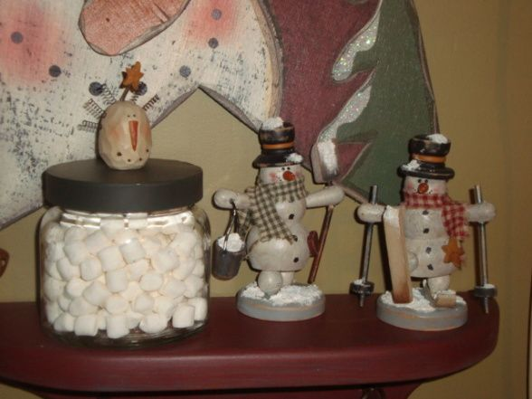 Primitive Christmas Decorating Ideas Country Primitive Christmas Warm Primitive Country