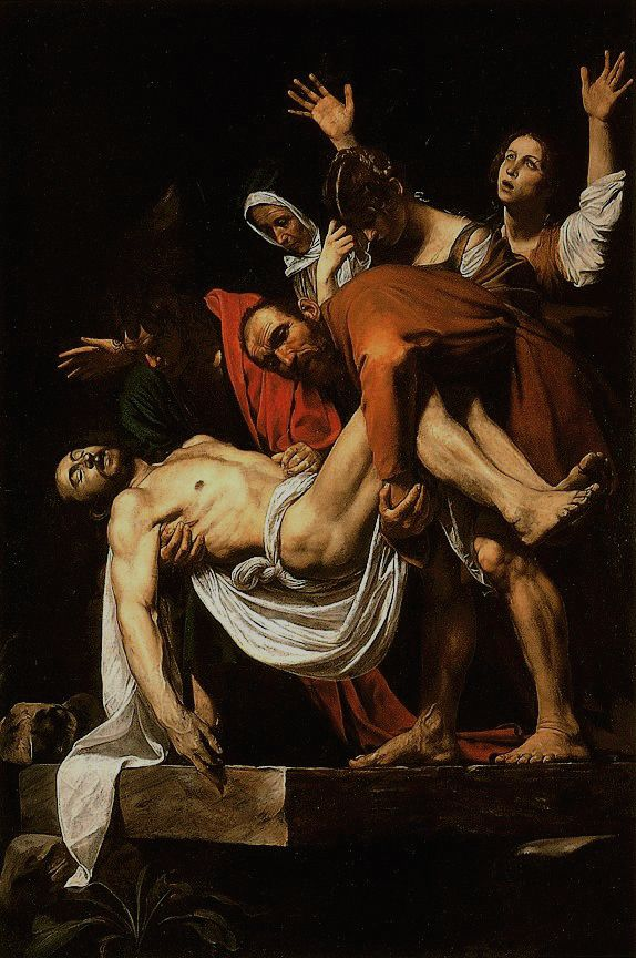 Caravaggio's  - The Entombment Of Christ In Vatican Museum - Vatican City