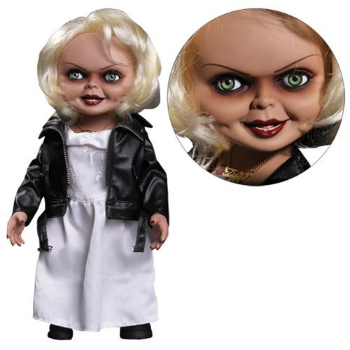 Child's Play Bride of Chucky Tiffany Talking 15-Inch Doll - Mezco Toyz - Horror: Childs Play - Dolls at Entertainment Earth