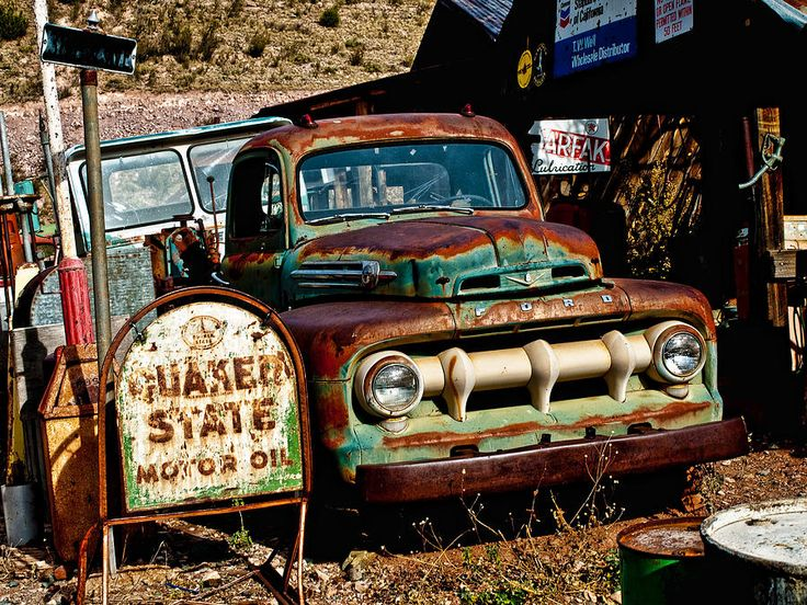 rusty-old-ford | Cars,Trucks,Bikes,Boats | Pinterest