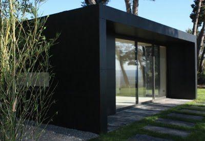 abri de jardin en beton recherche google jardin pinterest architecture bureaux et design. Black Bedroom Furniture Sets. Home Design Ideas