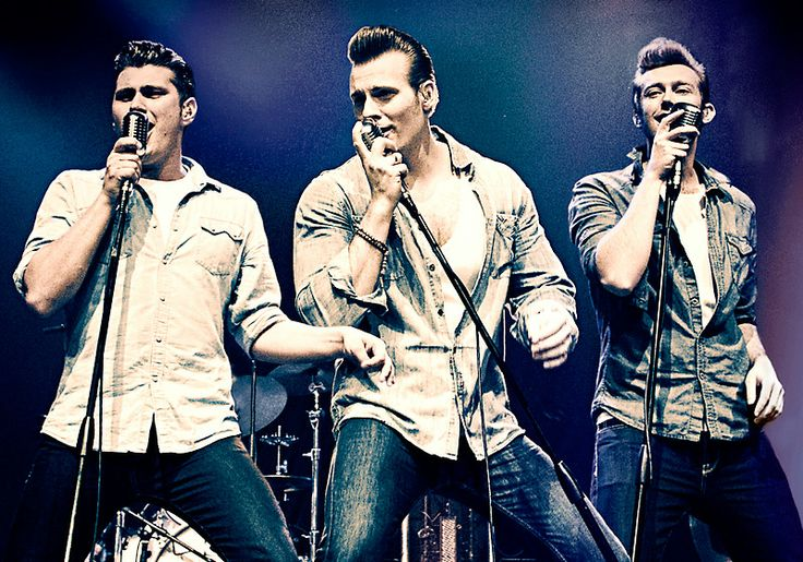 The greatest rockabilly band - The Baseballs.