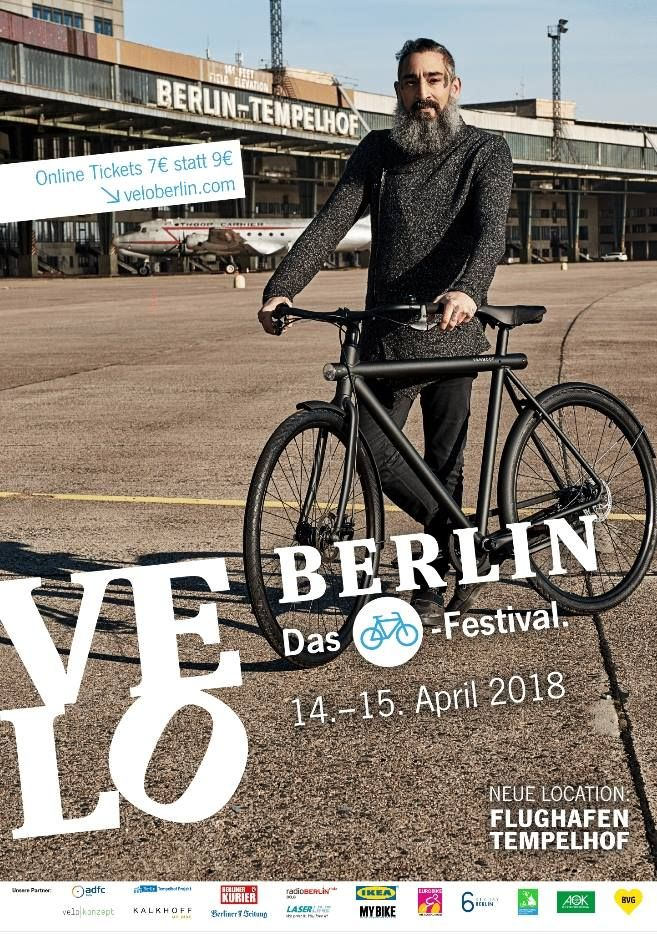 The Bicycle Festival At Tempelhof Airport In Berlin On April 14 15