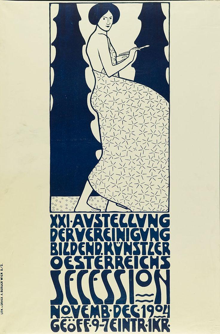 Friedrich König, Lithographische Anstalt A. Berger | XXI. Ausstellung der Vereinigung bildender Künstler Österreichs Secession 1904 | Museum für Kunst und Gewerbe Hamburg