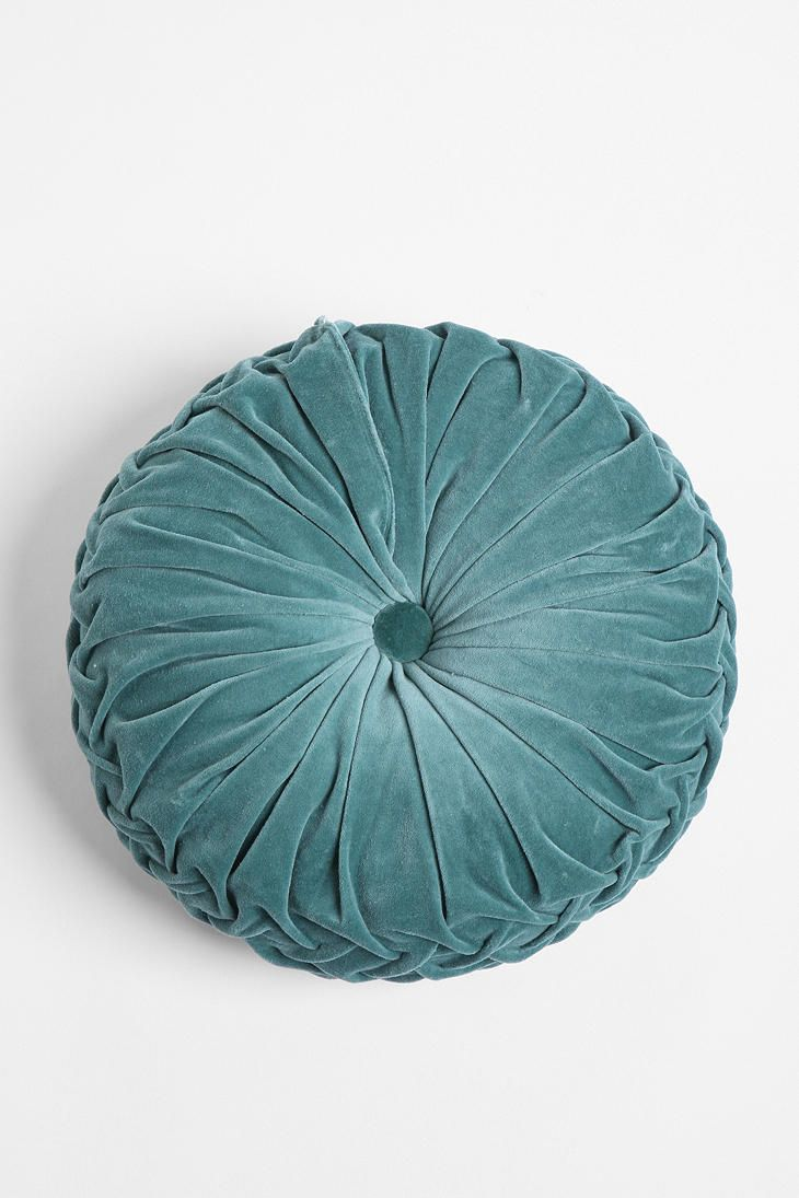 Round Velvet Pintuck Pillow - love these retro pillows, just like my Grandmother's!    Just ordered one in powder blue and one in orange for my living room.    http://www.urbanoutfitters.com/urban/catalog/productdetail.jsp?id=18240945&parentid=A_FURN_BEDDING&navCount=63&navAction=poppushpush&pushId=A_DEC_PILLOWS&popId=A_DECORATEitemdescription=true&color=050&sortProperties=+subCategoryPosition,+product.marketingPriority&itemCount=80
