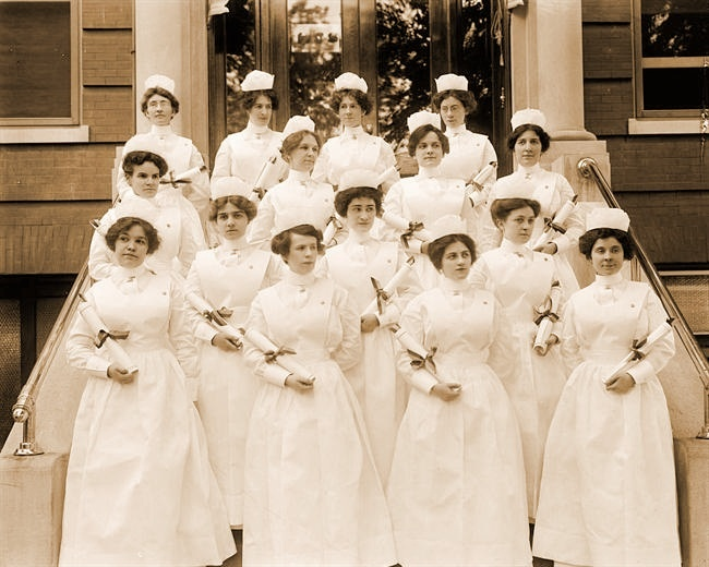 Where nostalgia and romance meet ...  Dutch Nurses