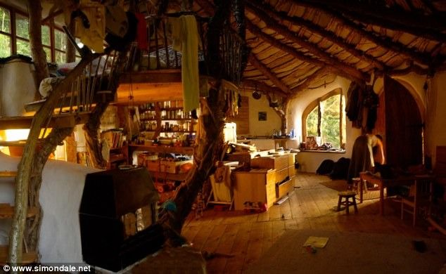 more of the hobbit house