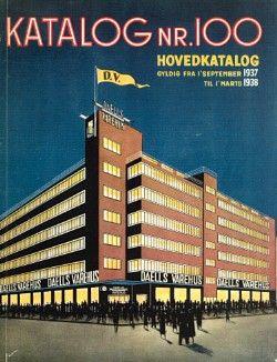 Katalog Nr. 100 : Hovedkatalog : gyldig fra 1' September 1937 til 1' Marts 1938