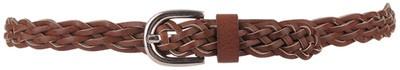 Leatherette Braided Skinny Belt: Skinny Belts, Leatherett Braids, Braids Skinny