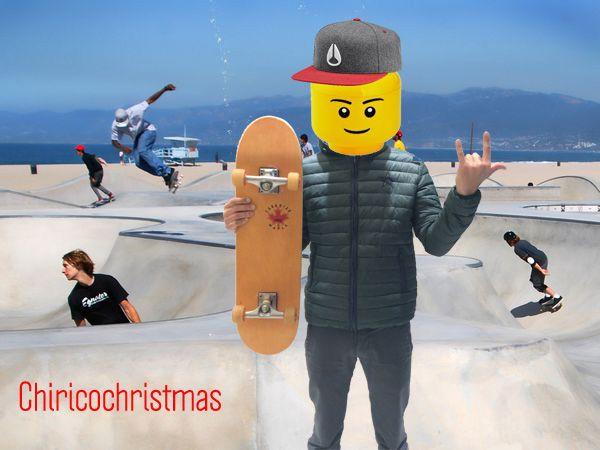 Dagli States l'omino Chirico store Lego sceglie piumino, pantalone Macchia J. e cappello Nixon per le sue gare di skate! Stay tuned...approfitta di uno sconto del 10% per i tuoi acquisti online inserendo il codice CHIRICOCHRISTMAS nel nostro sito www.chiricostore.it