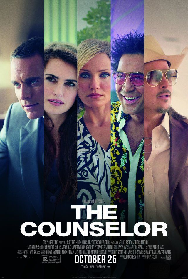 Movie review for one of the weirdest movies of the year, The Counselor