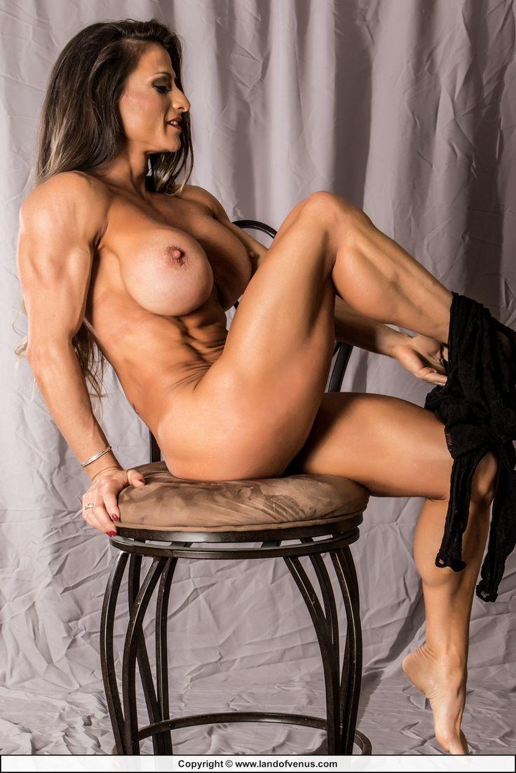 naked hard female abs