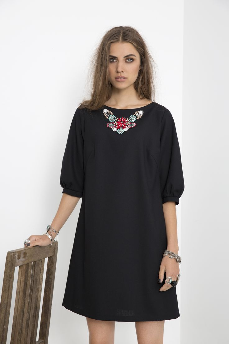 Tiffany's Tunic - Black