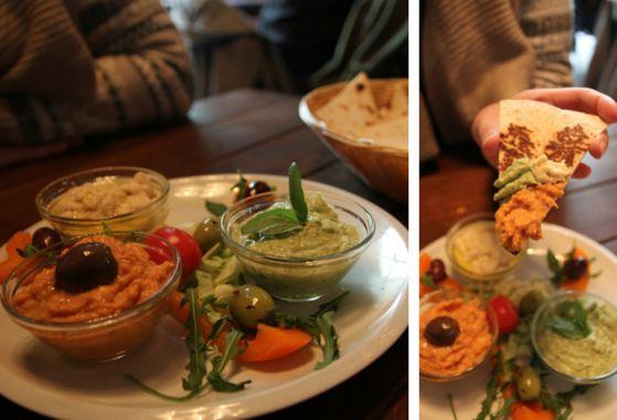 Sexy Hummus Platter