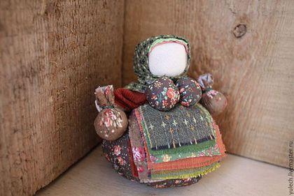 """Народные куклы ручной работы. Ярмарка Мастеров - ручная работа. Купить Кубышка-травница народная русская куколка """"Кедровница"""". Handmade."""