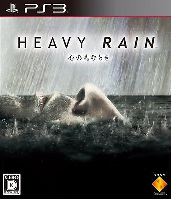Heavy Rain: The Origami Killer BCJS-30040 Playstation 3 JAPAN NEW