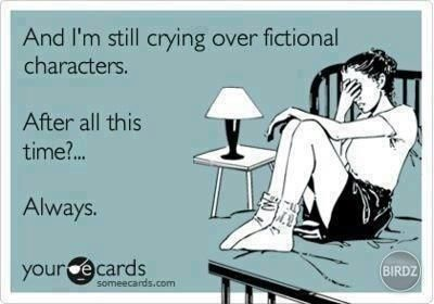 I ALWAYS SOB WHEN SNAPE AND DOBBY DIE, whether it's while reading the book or watching the movie.