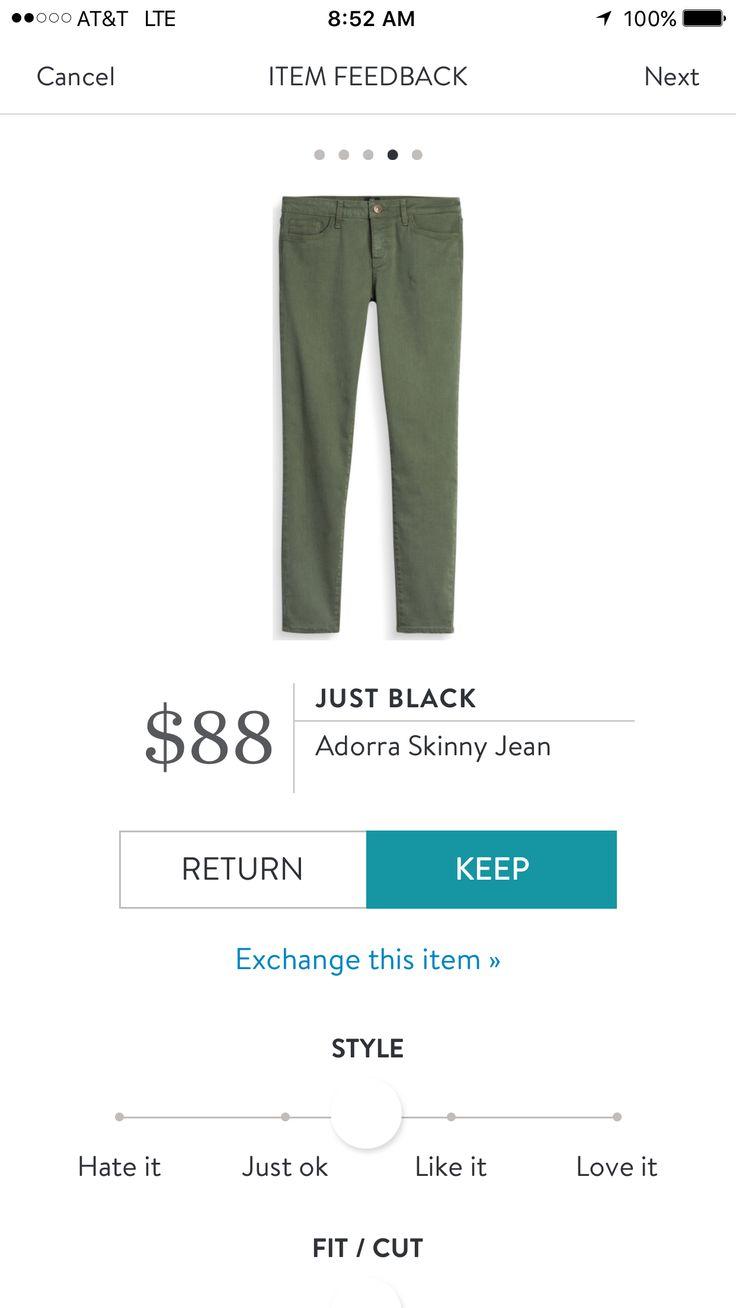 Just Black Adorra Skinny Jean