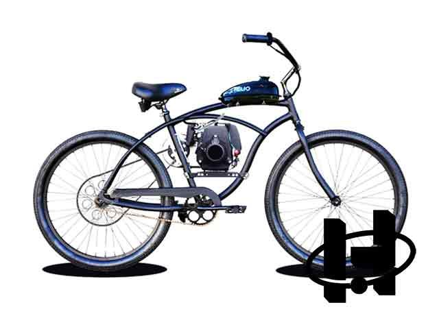 Basic 7g Motorized Bicycle Is The Most Affordable Honda Ed On Market Quiet And Dependable This 49cc Gas Bike Has Great Value