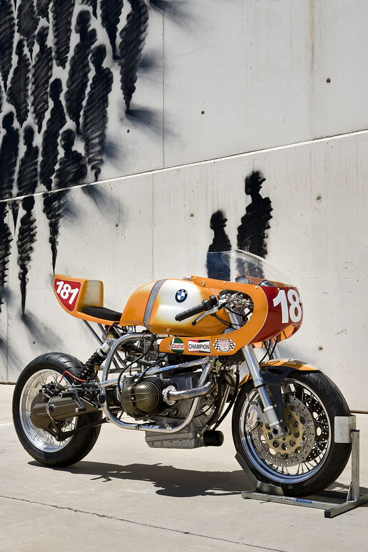 Brutal BMW R80 ST Cafe Racer ''Daytona'' XTR Pepo #motorcycles #caferacer #motos | caferacerpasion.com