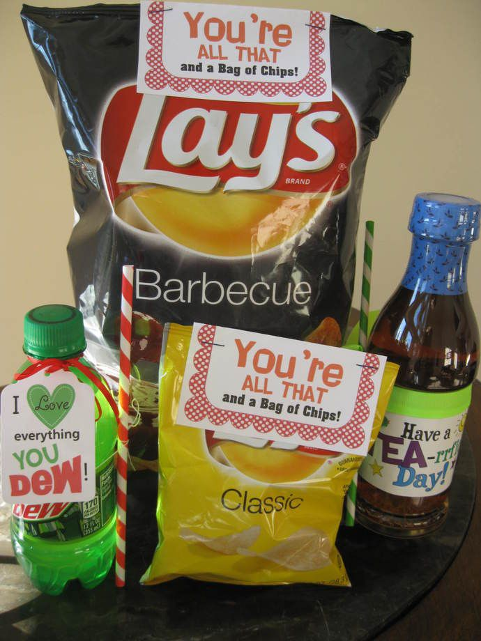 You are all that and a bag of chips! Adorable kids candy ...