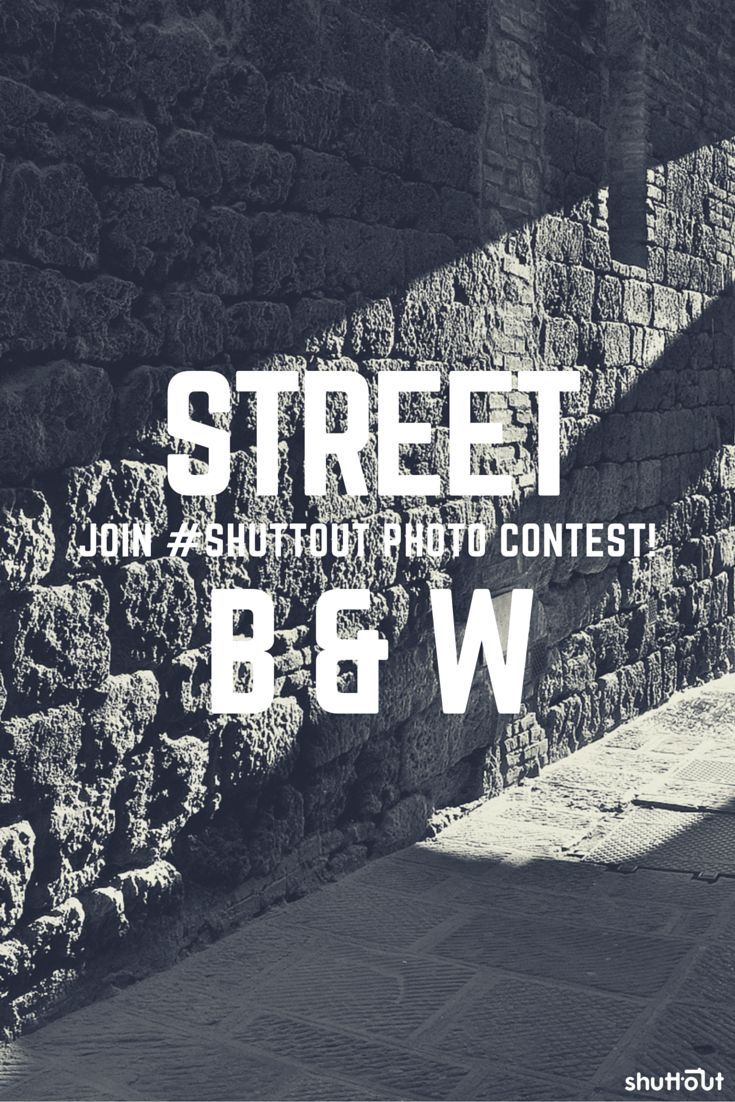 Join our #shuttout #streetphoto #contest. Only in #blackandwhite #b&w #street #photography