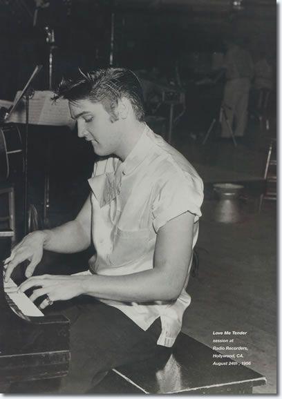 Elvis Presley : Love Me Tender Recording Sessions : August 24, 1956