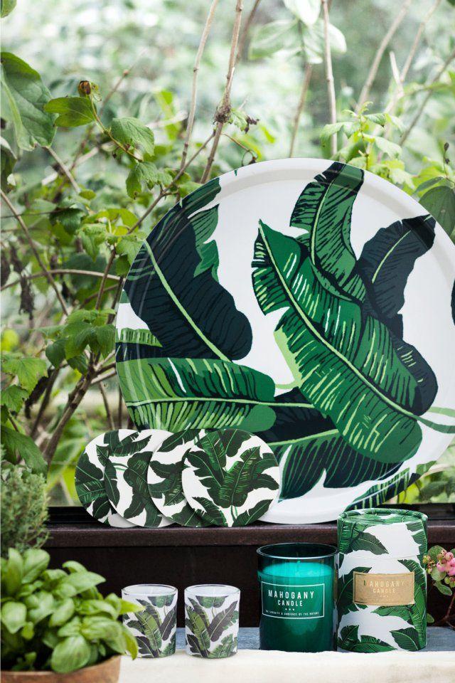 Nouveautés H&M Home 2016 : L'urban jungle arty - Marie Claire Maison