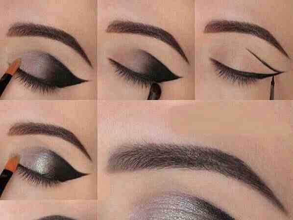 مكياج عيون بالخطوات صورة ٧ Cat Eye Makeup Makeup Eye Makeup