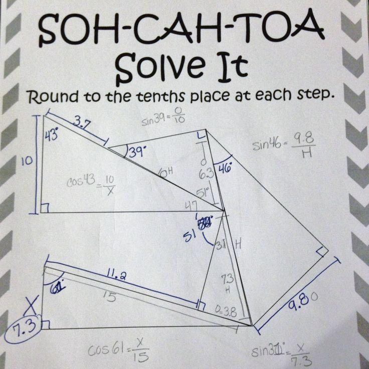 math worksheet go sohcahtoa trigonometry math worksheets go cheat sheet books geometry basic. Black Bedroom Furniture Sets. Home Design Ideas
